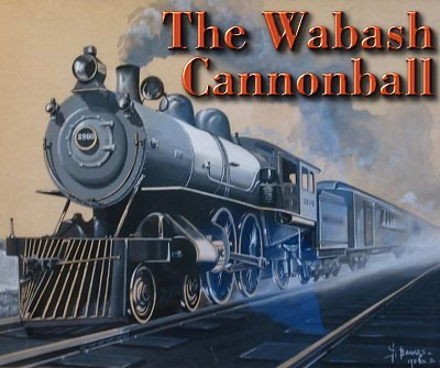 The Wabash Cannonball. This is a Frank Bower portrait of a light Atlantic, about 1904.